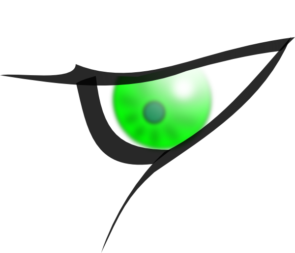 Eye Clipart Side View.
