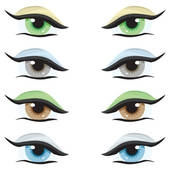 Eye Colour Clipart.