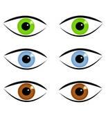 Eye Colour Clipart.