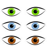 Eye Color Clipart.