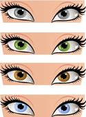 Eye clipart coloring.