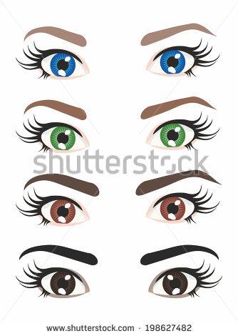 Eye Color Stock Photos, Royalty.