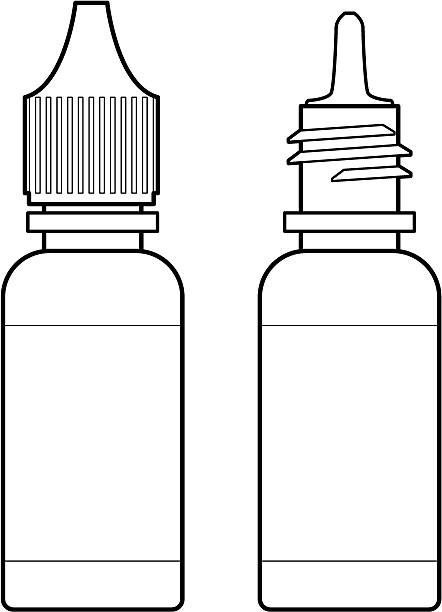 Eye Drop Bottle Clipart.