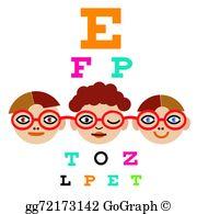 Eye Exam Clip Art.