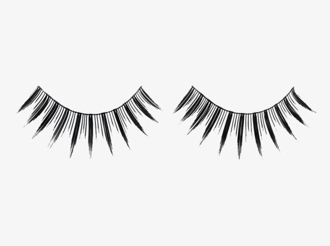 Black False Eyelashes PNG, Clipart, Black, Black Clipart, Eye.