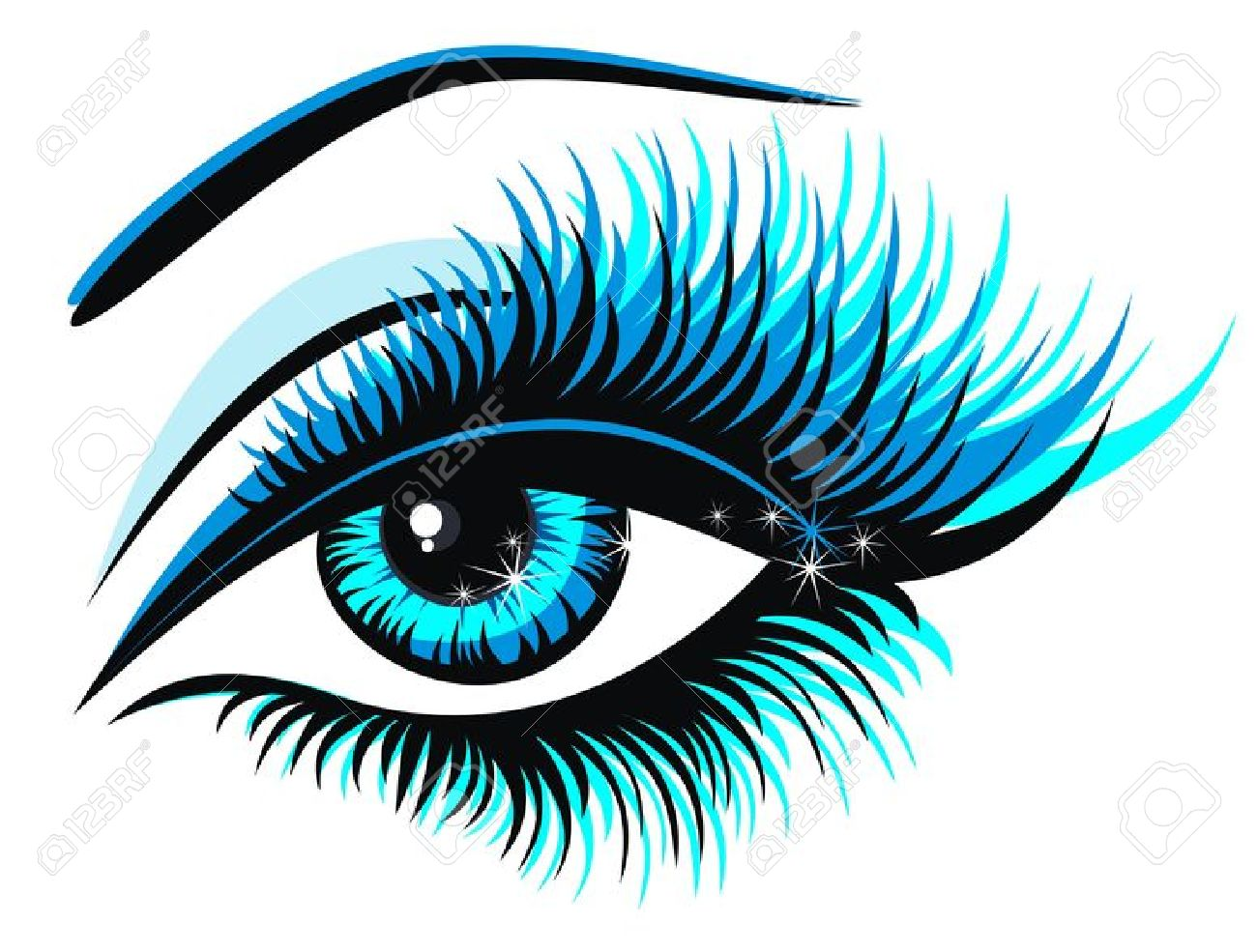 5,465 Eyes Lashes Stock Vector Illustration And Royalty Free Eyes.