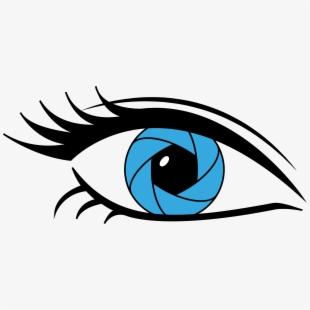 Eye Camera Lens Aperture.