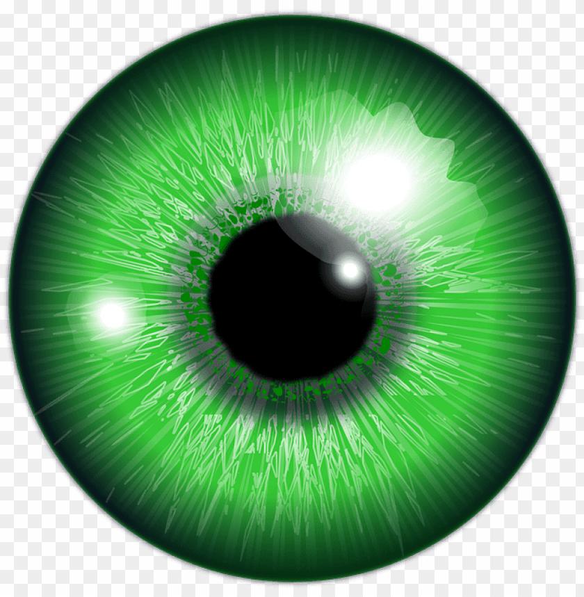 picsart eye lens PNG image with transparent background.
