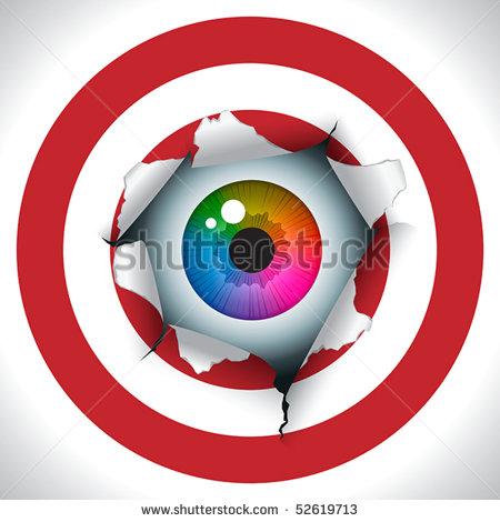 Eye Lense Alignment Clipart.