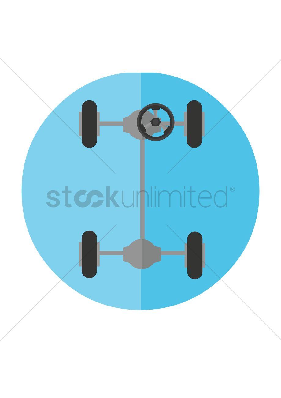 Wheel Alignment Clipart.