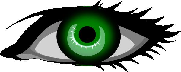 Green Eye Clip Art at Clker.com.