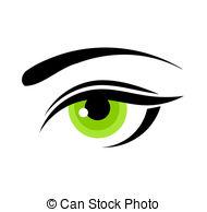 Eyelids Clip Art Vector Graphics. 1,053 Eyelids EPS clipart vector.