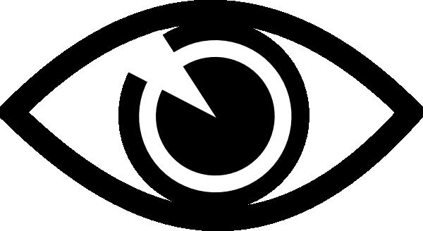 Free Black And White Eye Logo, Download Free Clip Art, Free.