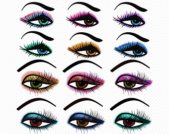 eye makeup clipart - Clipground