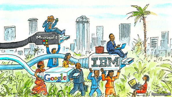 Information technology in Africa: The next frontier.
