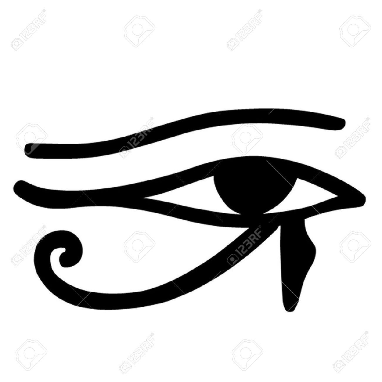 Egyptian Eye Clipart.
