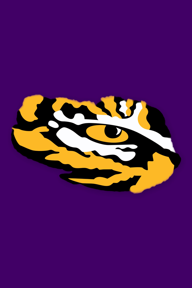Details about LSU Eye of the Tiger Vinyl Decal.