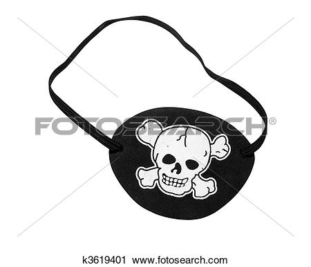 Stock Photography of Pirate eyepatch k3619401.