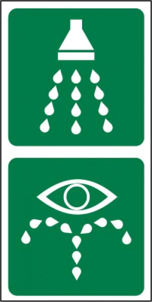 Emergency Shower/Eye Wash Symbols.