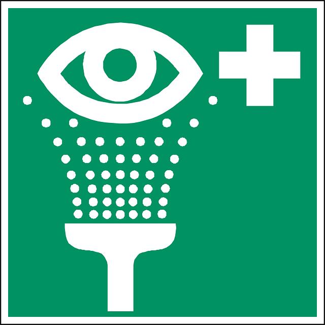 Free vector graphic: Eye Shower, Eye Wash, Rinse Eyes.