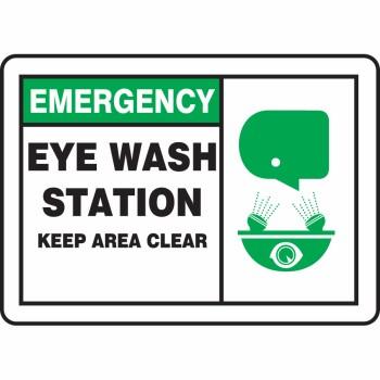 Eye/Shower Stations.