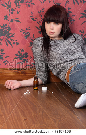 Self Harm Stock Images, Royalty.