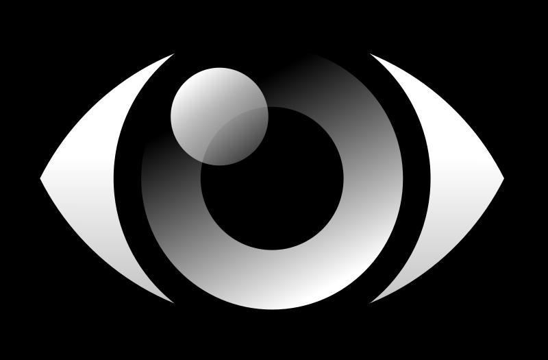 Free Clipart: Eye icon.