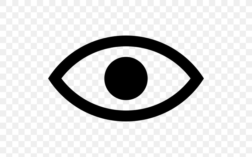 Eye Symbol Clip Art, PNG, 512x512px, Eye, Black, Black And.