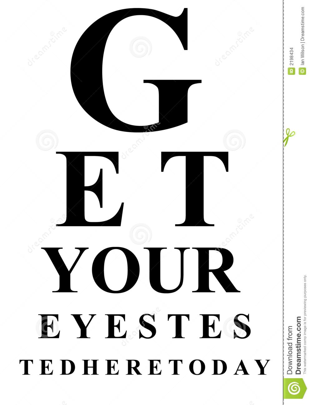 Eye test clipart clipground eye chart clipart free eye test chart geenschuldenfo Gallery