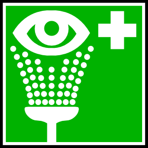 Eye wash clipart.