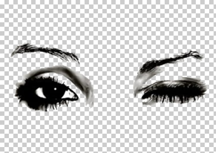 Eye Wink Drawing Blinking, Eye PNG clipart.