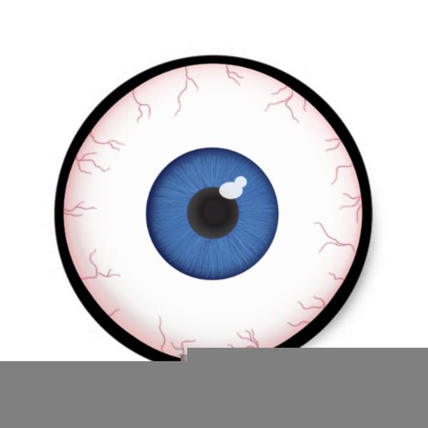 Halloween Eyeball Clipart.