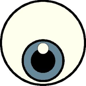 Eyeball eye clip art free clipart images.