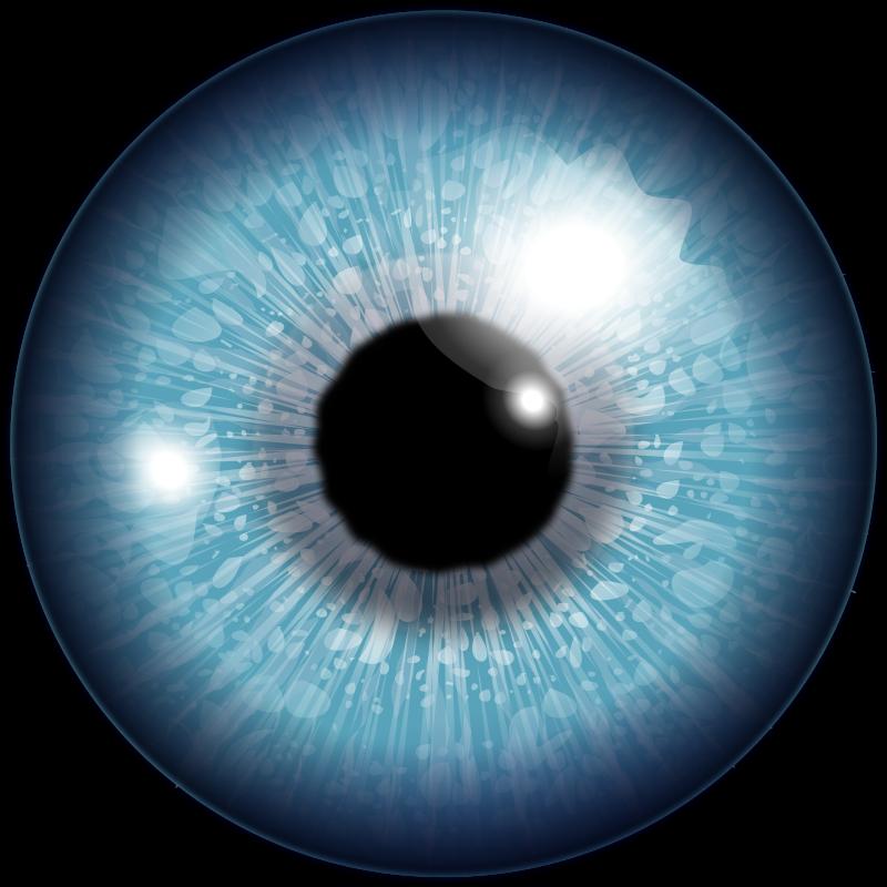 Eyeball clipart free.