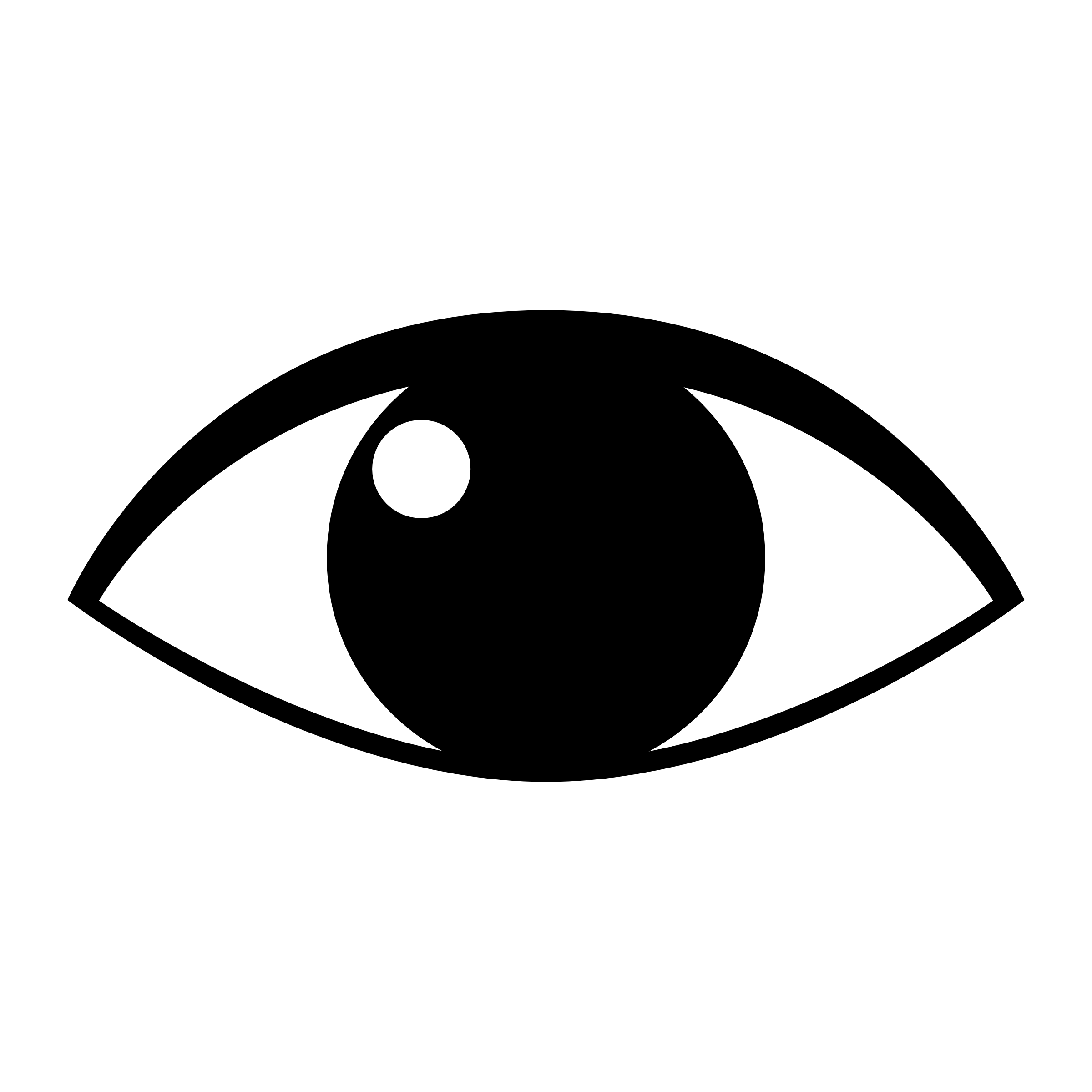 Eyeball clipart black and white 3 » Clipart Station.