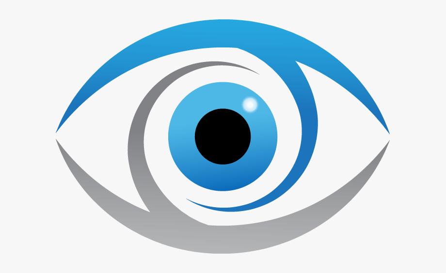 Banner Black And White Eyeball Clipart Logo.