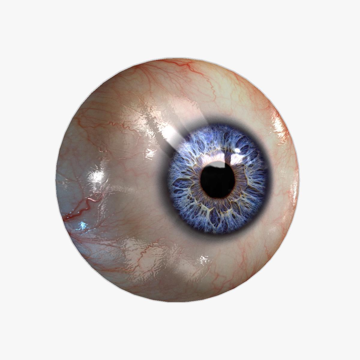 Eyeball (20 Colors) Rendering \ Realtime #42627.