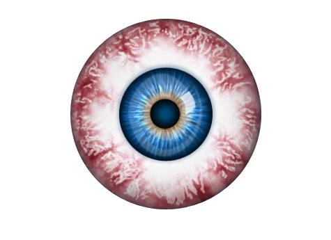Download Free png Bloodshot Eyeball!.
