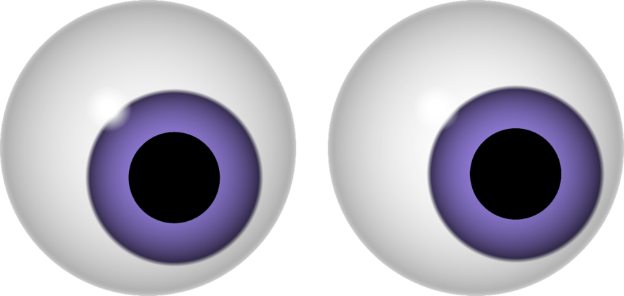 Halloween Eyeball Clipart.