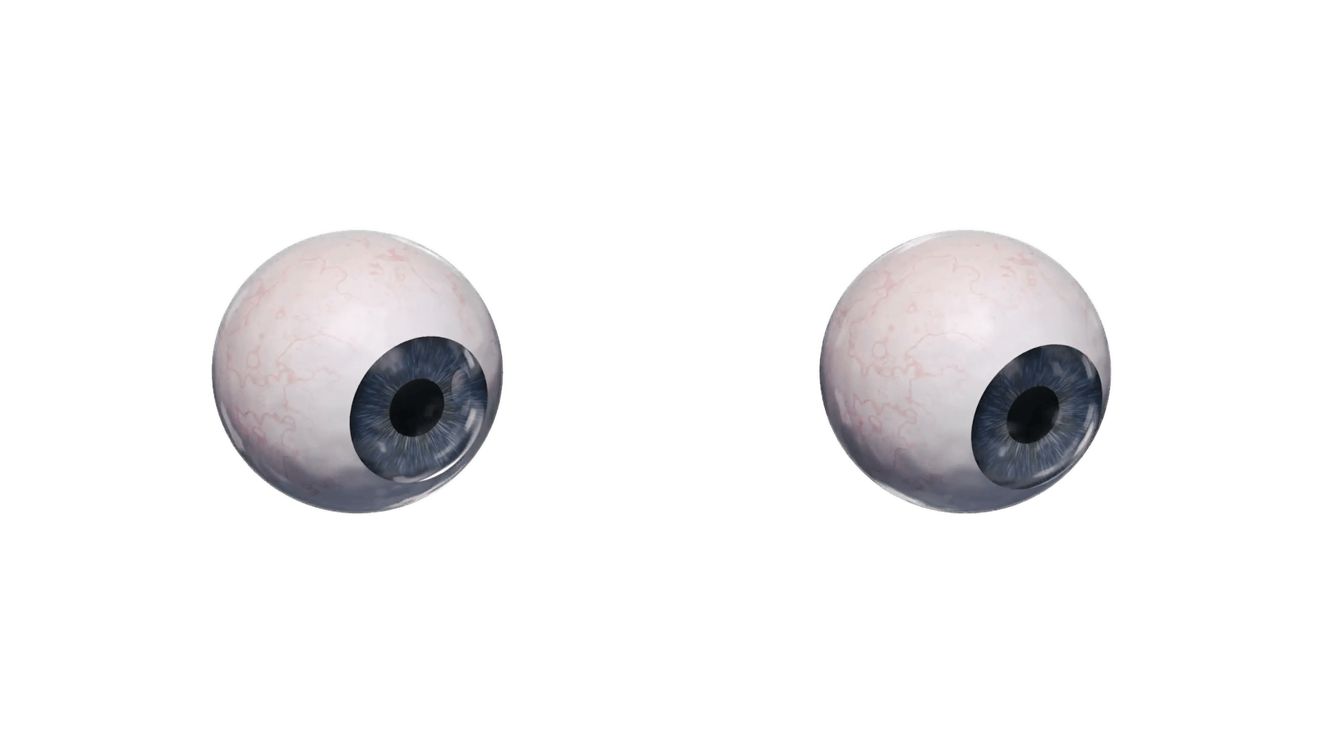 Eyeballs Looking Down transparent PNG.