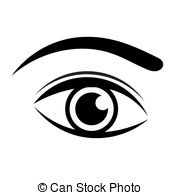 Eyebrow Clipart Black And White.