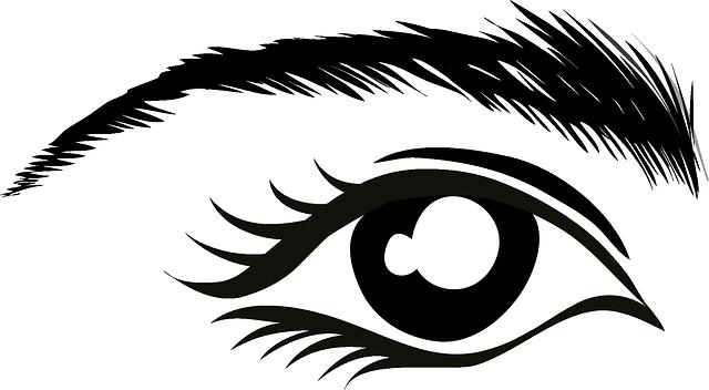 Free vector graphic: Eye, Eyebrow, Lashes, Mascara.