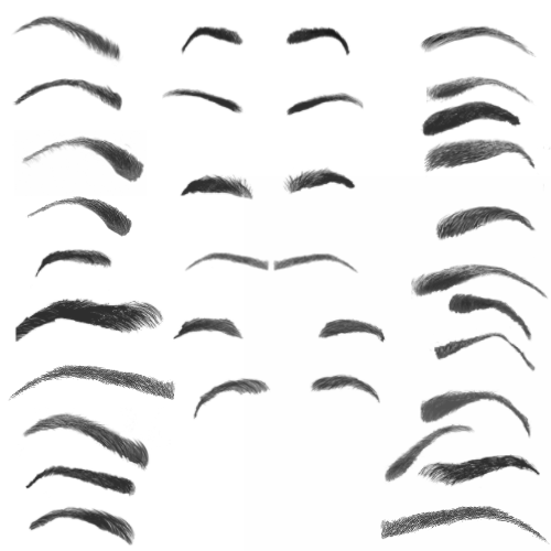 Eyebrow Texture Png (108+ images in Collection) Page 3.