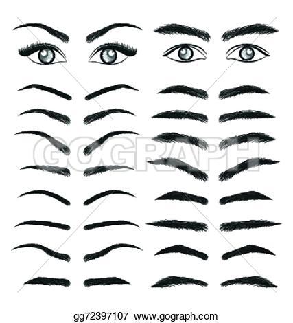 Eyebrow Eyebrows Clip Art.