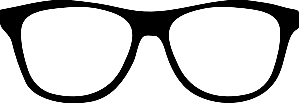 Cartoon Eyeglasses Clip Art.