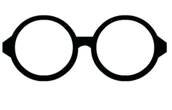824 Eyeglasses free clipart.