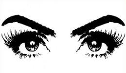 Free Eyelash Clipart.