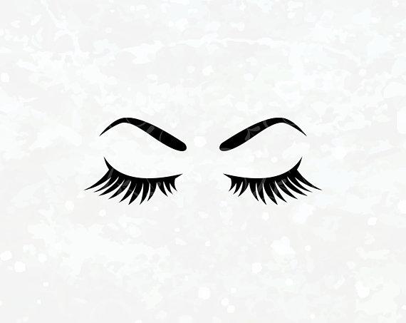 Makeup svg Eyelashes SVG Eyes SVG Eyebrows Lash SVG Brow.