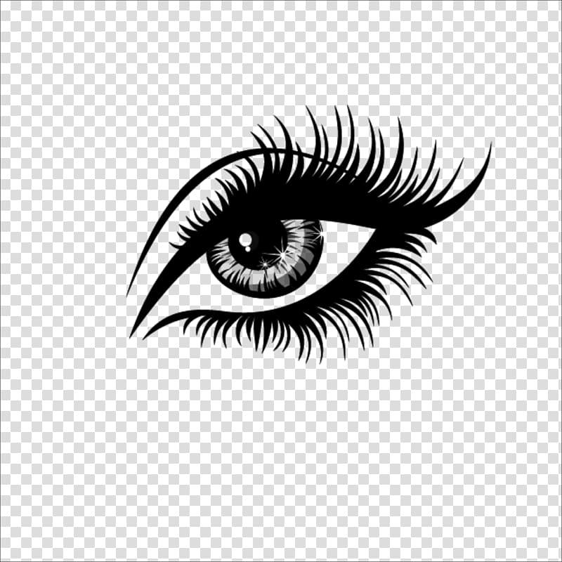 Eyelash extensions Artificial hair integrations , eye, eye.