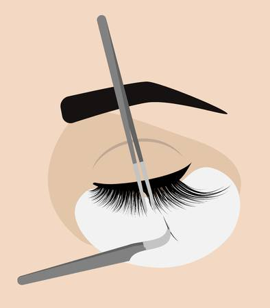 674 Eyelash Extensions Stock Vector Illustration And Royalty Free.
